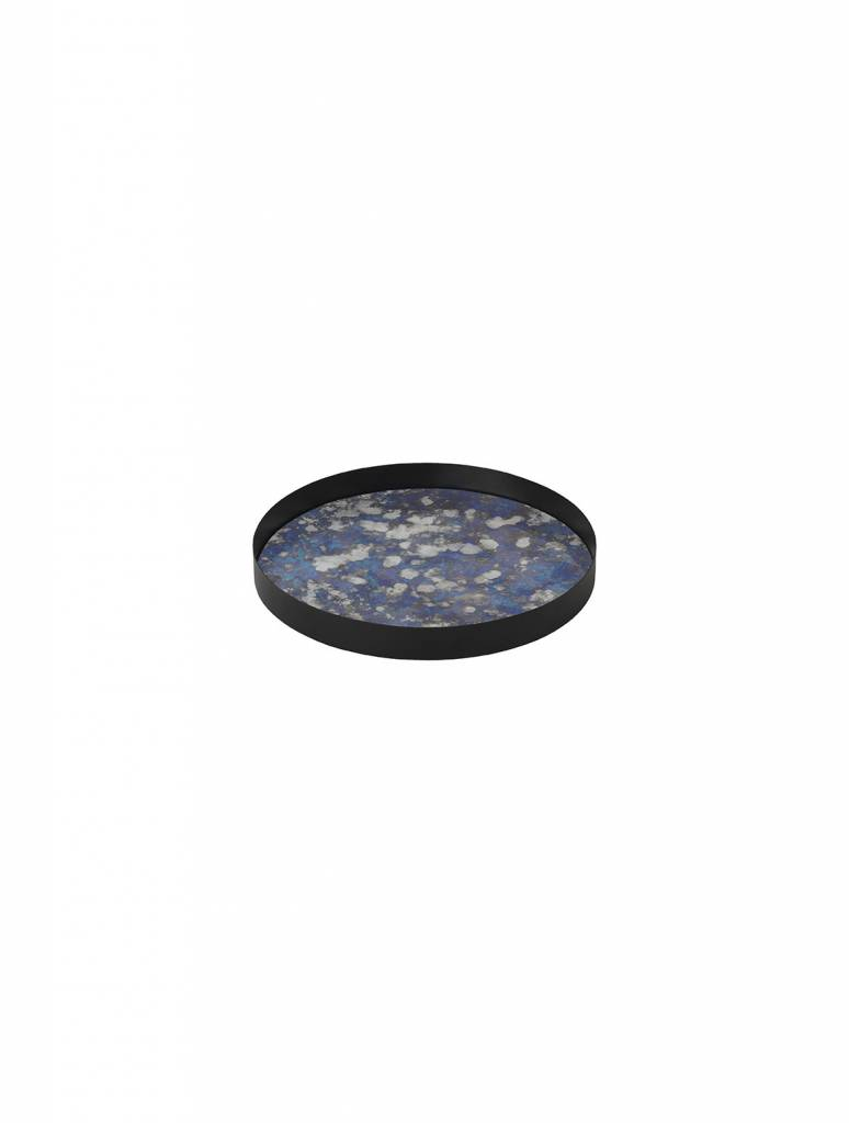ferm LIVING Ferm Living Coupled Tray - Round - Blue - Large