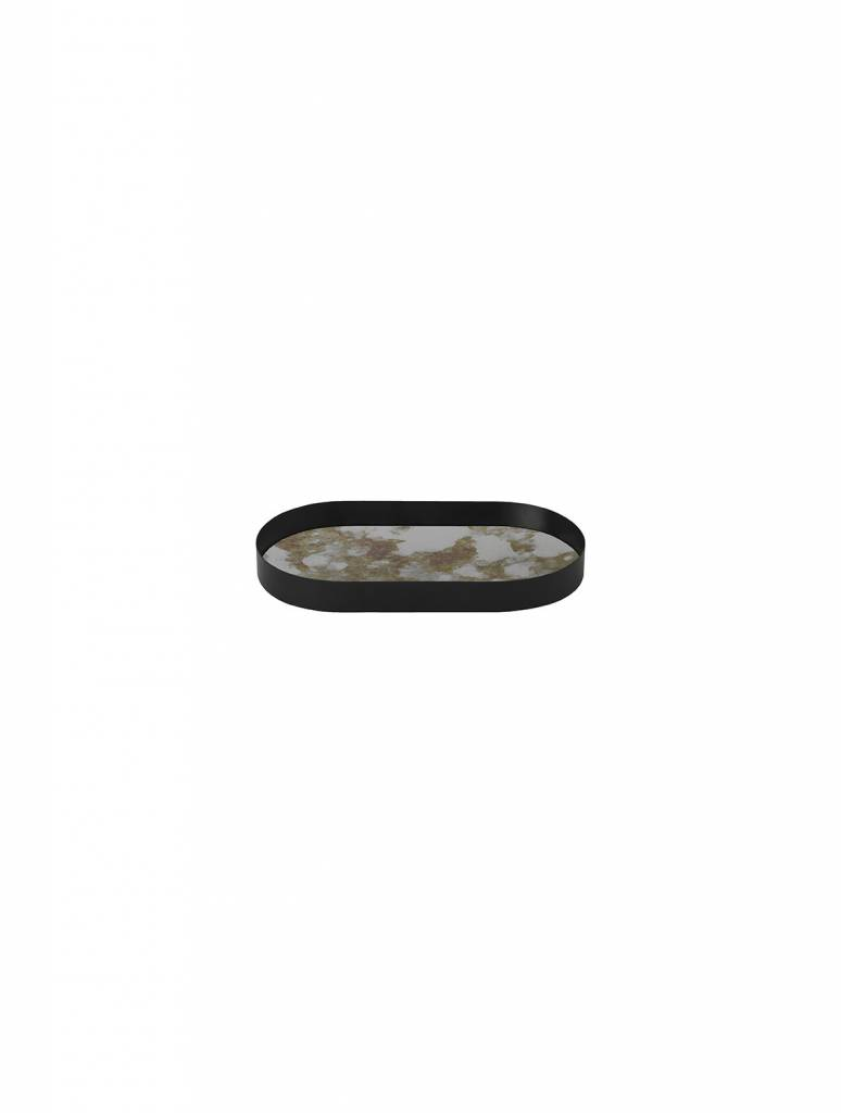 ferm LIVING Ferm Living Coupled Tray Oval - Moss Green - Small