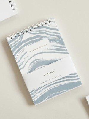 Ola Ola Pocket Notepad - Brush Strokes