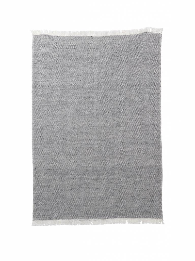 ferm LIVING Ferm Living Blend Knitted Kitchen Towel - Grey