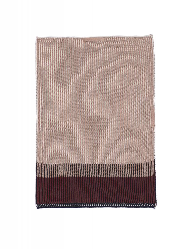 ferm LIVING Ferm Living Akin Knitted Kitchen Towel - Rose