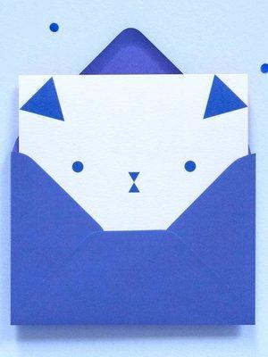 Ola OLA jr Dog Greeting Card