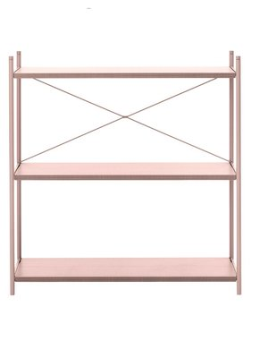 ferm LIVING Punctual Shelving - Various Sizes  - Rose