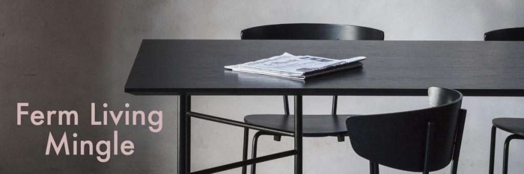 Ferm Living Mingle Table & Desk
