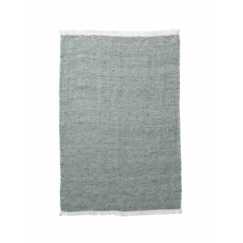 ferm LIVING Blend Knitted Kitchen Towel - Green