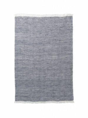 ferm LIVING Blend Knitted Kitchen Towel - Blue