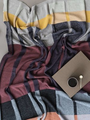 ferm LIVING Ferm Living Medley Knit Blanket - Multi