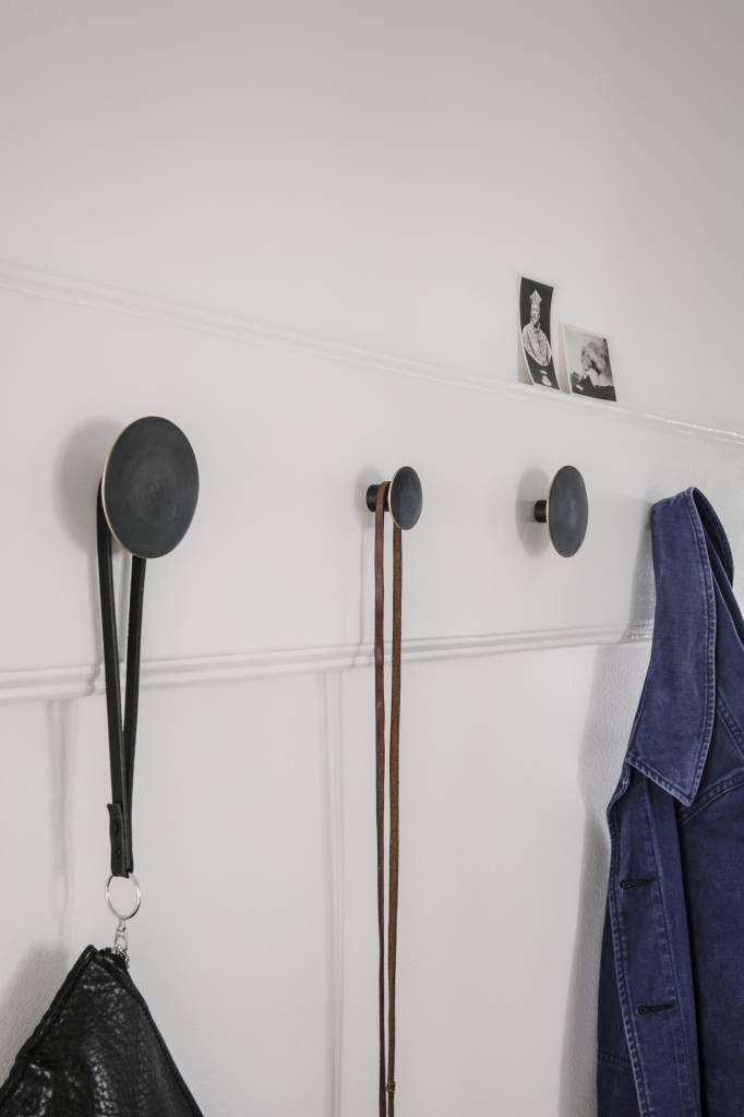 ferm LIVING Ferm Living Hook - Black Brass - Small