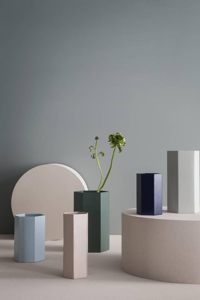 ferm LIVING ferm LIVING Hexagon Vase - Rose