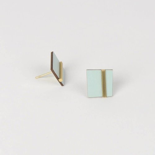 Tom Pigeon *New* Form Earring Square