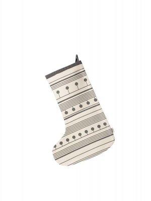 ferm LIVING Winterland Christmas Stocking - Grey
