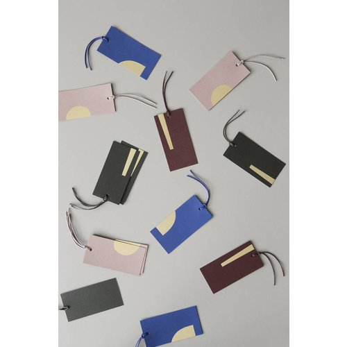 ferm LIVING Gift Tags - Art - Set of 6