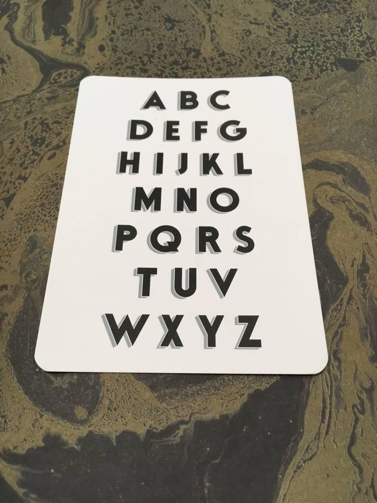 Tom Pigeon Tom Pigeon Cinematype Alphabet Postcards