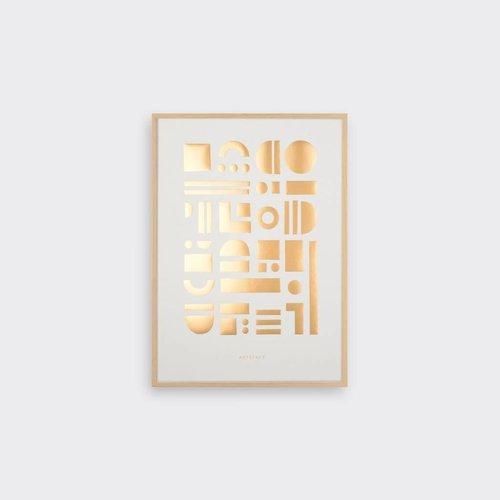 Tom Pigeon Artefact - Copper Print - A3