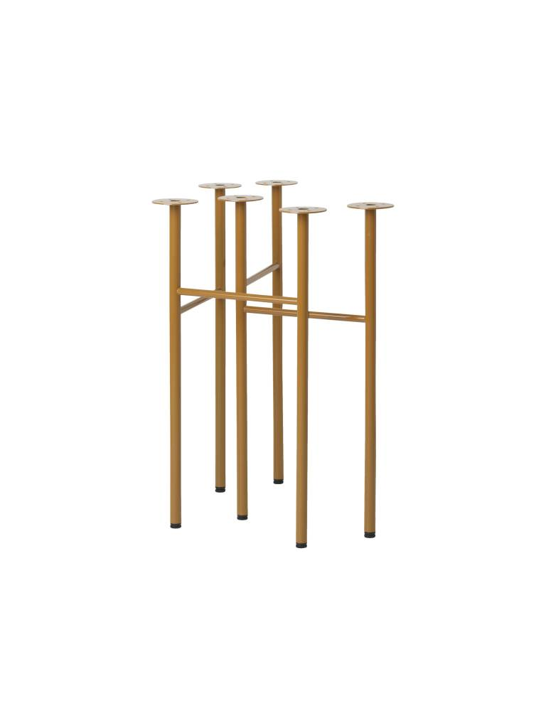 ferm LIVING Ferm Living Mingle Trestles W68 (For 160cm and 210cm Table) Ochre