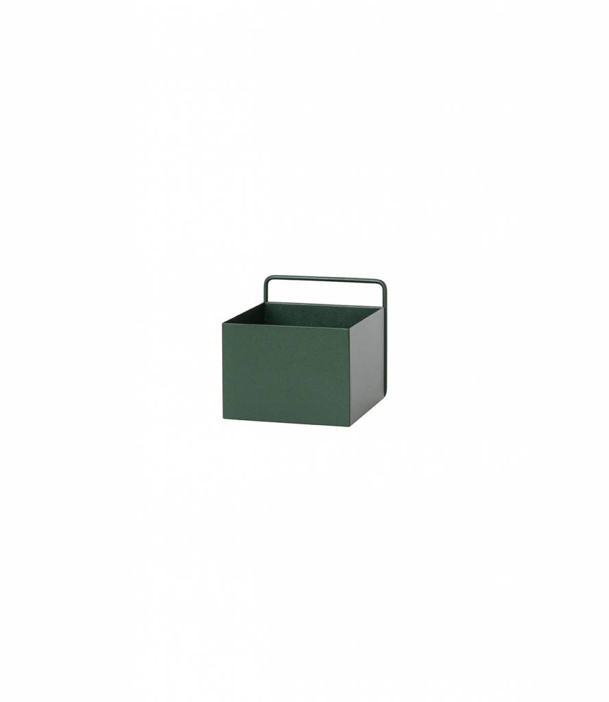 ferm LIVING ferm LIVING Wall Box - Dark Green - Square