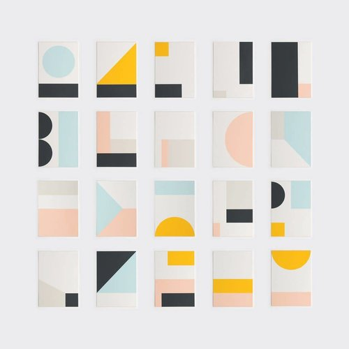 Tom Pigeon Fragment Prints - 1-10