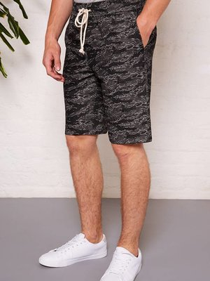 HYMN London 'TREK' Denim Cammo Shorts