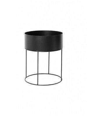 ferm LIVING Plant Box - Round - Black
