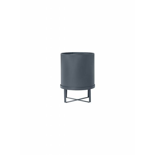 ferm LIVING Bau Plant Pot - Dark Blue - Large