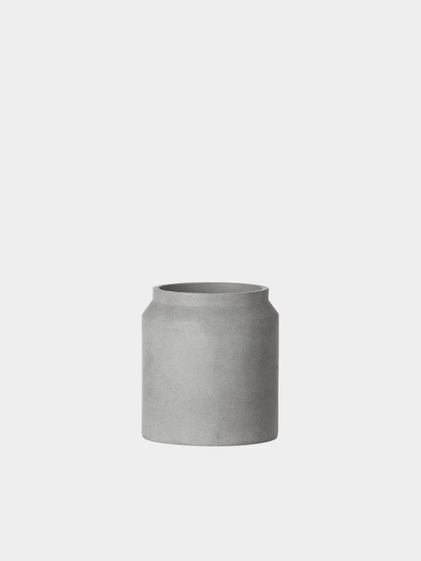 ferm LIVING ferm LIVING Concrete Plant Pot - Light Grey - Small
