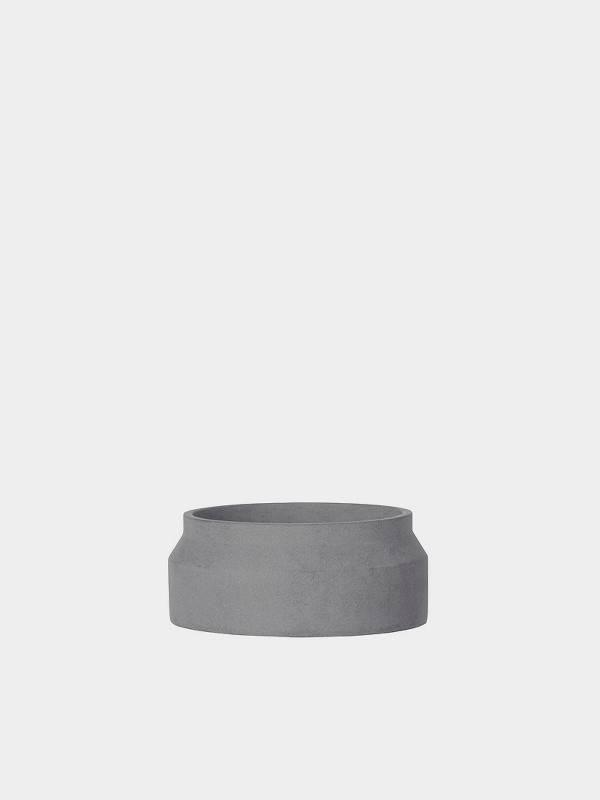 ferm LIVING ferm LIVING Concrete Plant Pot - Dark Grey - Small