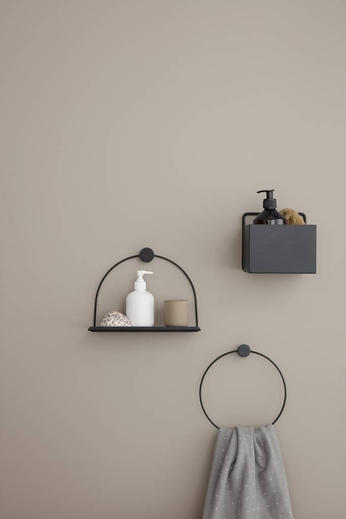 ferm LIVING ferm LIVING Bathroom Shelf - Black