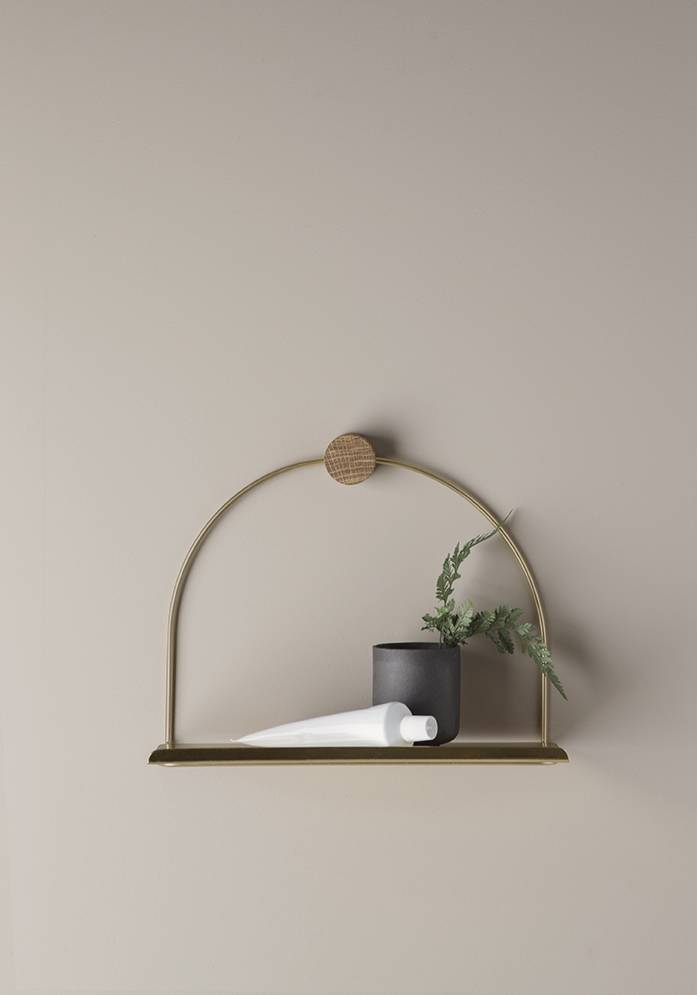 ferm LIVING ferm LIVING Bathroom Shelf - Brass