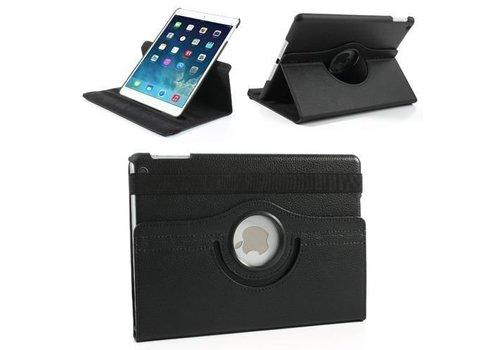 Apple iPad Air 2 (iPad 6) - 360 graden draaibare Hoes - Kleur Zwart