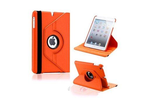 Apple iPad Air 2 (iPad 6) - 360 graden draaibare Hoes - Kleur Oranje