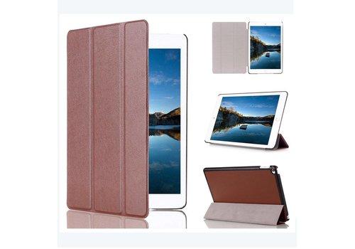 Apple iPad Mini 4 - PU lederen Smart Case - Bruin