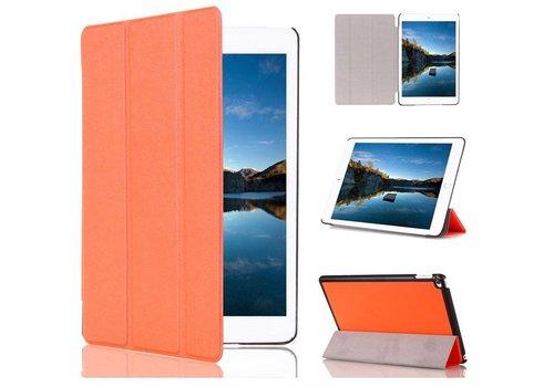 Apple iPad Mini 4 - PU lederen Smart Case - Oranje
