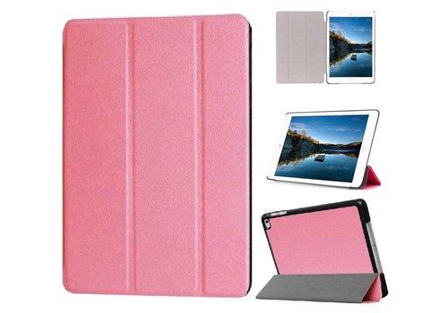 Apple iPad Mini 4 - PU lederen Smart Case - Roze