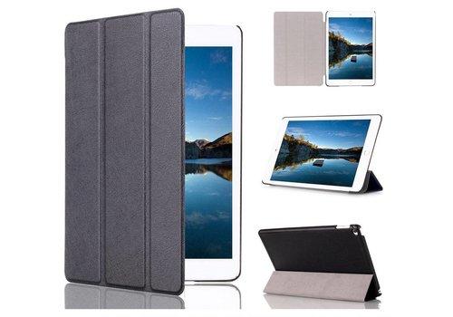 Apple iPad Mini 4 - PU lederen Smart Case - Zwart