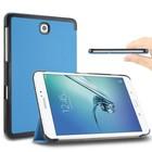 GSMWise Aqua Smart Case gemaakt van PU Leer Galaxy Tab S2 9.7