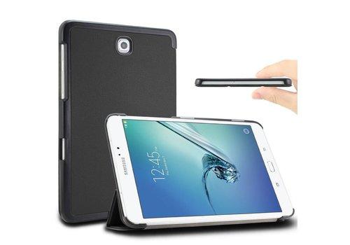 Samsung Galaxy Tab S2 8.0 - PU lederen Smart Case - Zwart