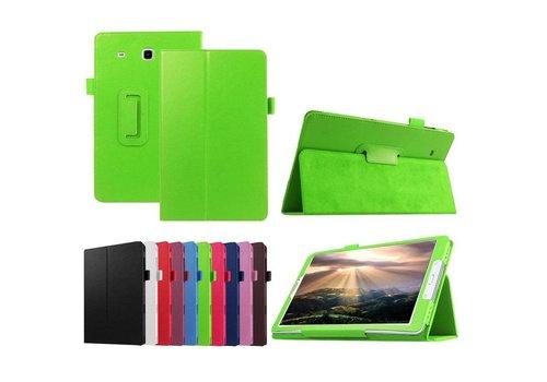 Samsung Galaxy Tab E 9.6 - Book Case Hoes - Groen