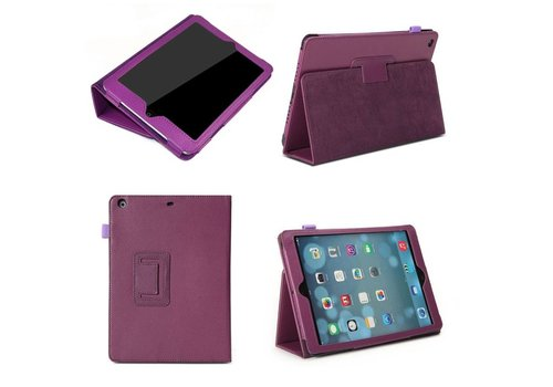 Apple iPad Mini 4 - Book Case Hoes - Paars