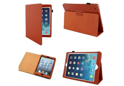 Apple iPad 2 / 3 / 4 - Book Case Hoes - Oranje