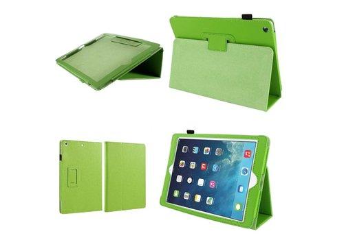 Apple iPad Air 1 (iPad 5) - Book Case Hoes - Groen