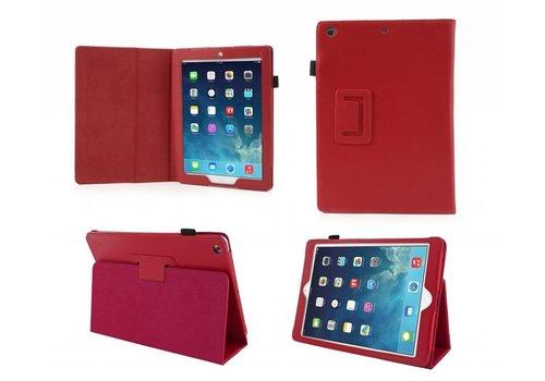 Apple iPad Air 1 (iPad 5) - Book Case Hoes - Rood