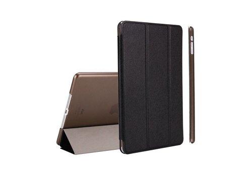 Apple iPad 2 / 3 / 4 - Zachte Zijden Design Tablet Cover - Zwart