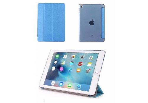 Apple iPad 2 / 3 / 4 - Zachte Zijden Design Tablet Cover - Blauw