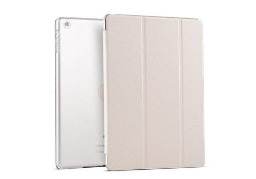 Apple iPad Air 1 (iPad 5) - Zachte Zijden Design Tablet Cover - Wit