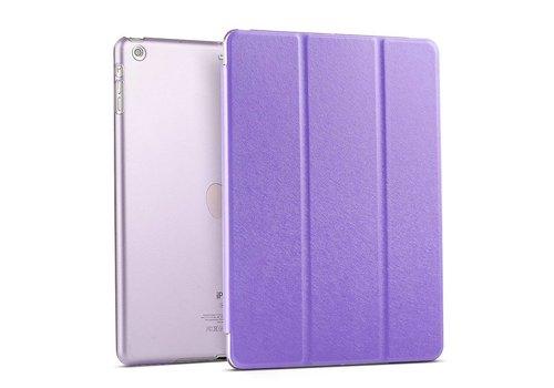 Apple iPad Air 1 (iPad 5) - Zachte Zijden Design Tablet Cover - Paars