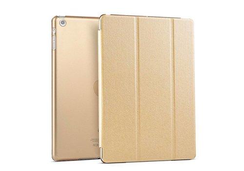 Apple iPad Air 1 (iPad 5) - Zachte Zijden Design Tablet Cover - Goud