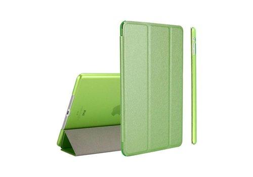 Apple iPad Mini 4 -  Zachte Zijden Design Tablet Cover - Groen