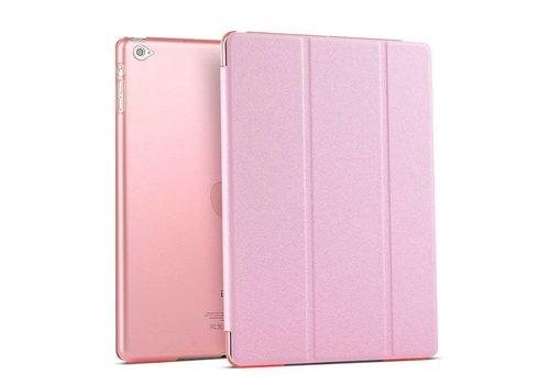 Apple iPad Mini 4 -  Zachte Zijden Design Tablet Cover - Roze