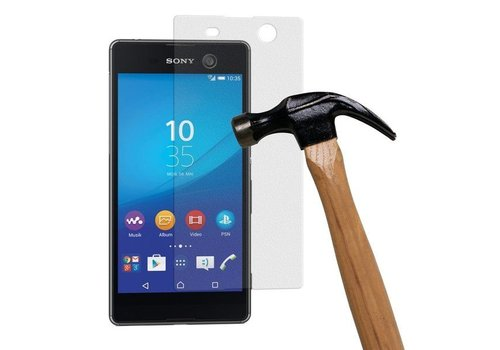 Sony Xperia M5 Krasbestendige Glazen Screen Protector