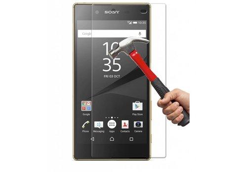 Sony Xperia Z5 Premium Krasbestendige Glazen Screen Protector